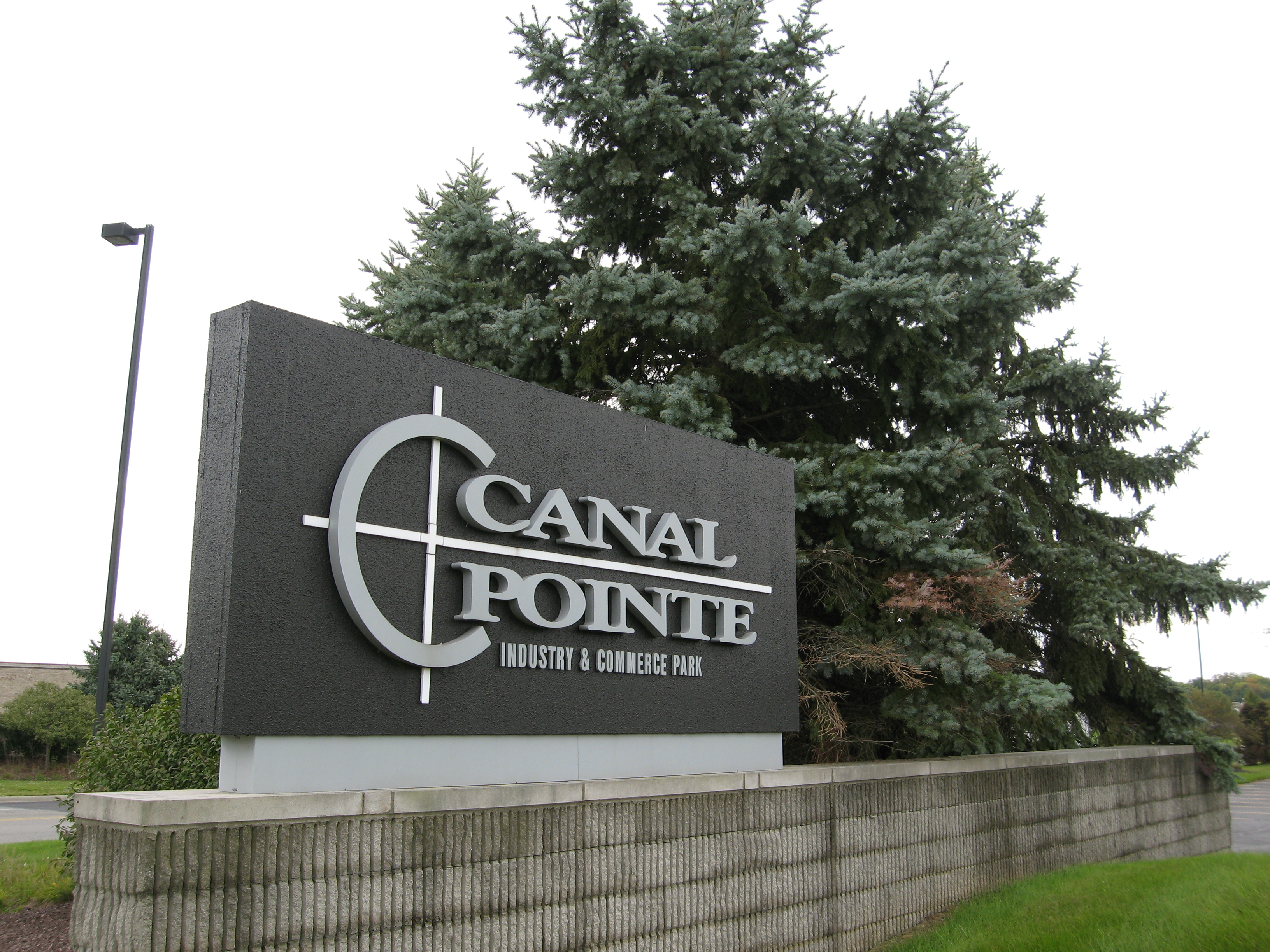 Canal Pointe Sign Picture