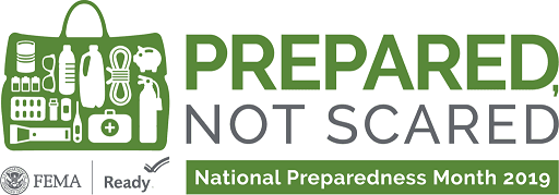 Prepared Not Scared FEMA logo