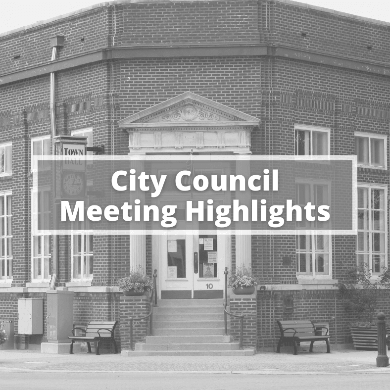 City Council Meeting Highlights